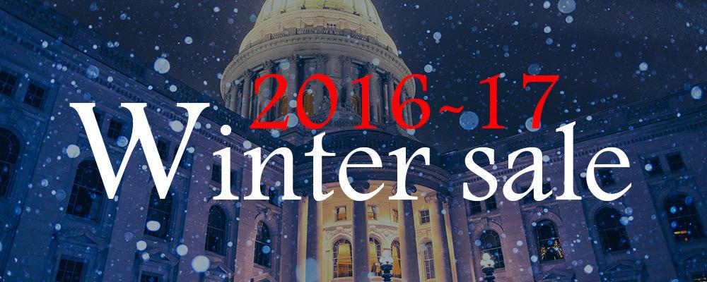 EXCLUSIVE 2017 WINTER SALE
