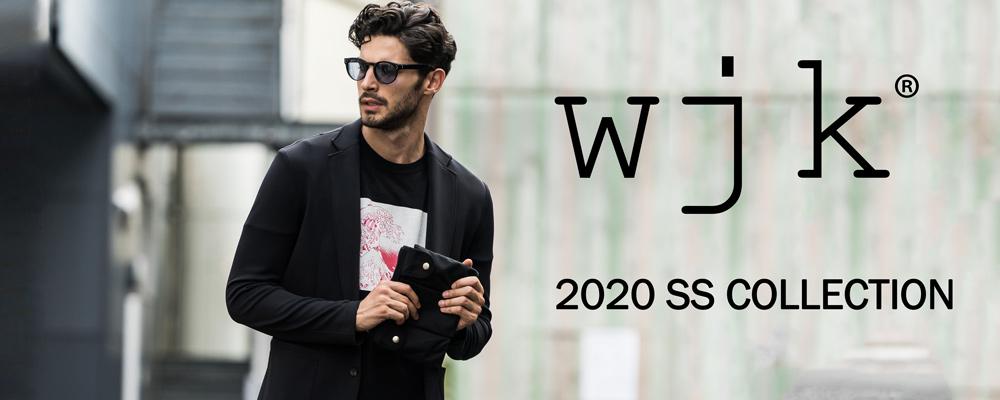 wjk ダブルジェイケイ 2020 S/S