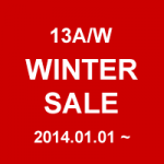 WINTER SALE 2013A/W