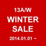 WINTER SALE 2013A/W